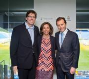 Acuerdo del Real Madrid y Microsoft Foto: Alberto Espada