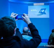 Presentación de la Surface 4 en el Museo Lázaro Galdiano. Alberto Espada